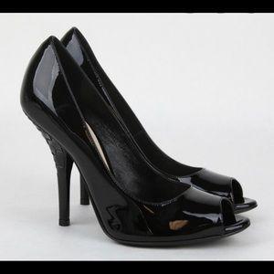 Bottega Veneta Black new Patent Leather